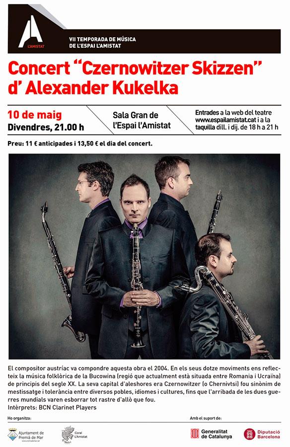 "Concert ""Czernowitzer Skizzen"" d'Alexarder Kukelka"