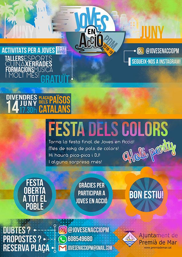 Holi Festa dels Colors