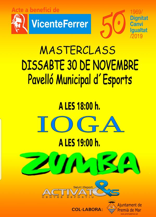 Masterclass Ioga Zumba