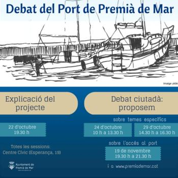 Debat port Premià de Mar