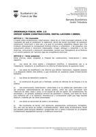 OF-2.5 Impost sobre construccions, instal.lacions i obres