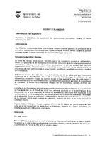 Subvencions concedides per l'Ajuntament tercer trimestre 2011