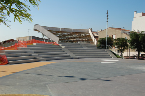 Plaça Països Catalans construïda3