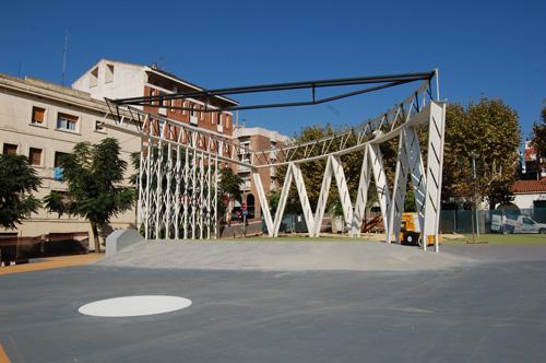 Plaça Països Catalans construïda4