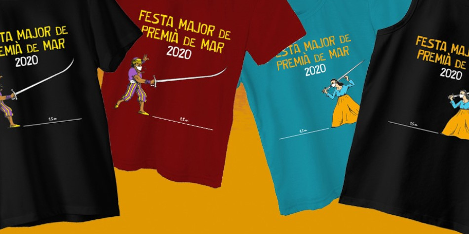 Samarretes de la Festa Major 2020