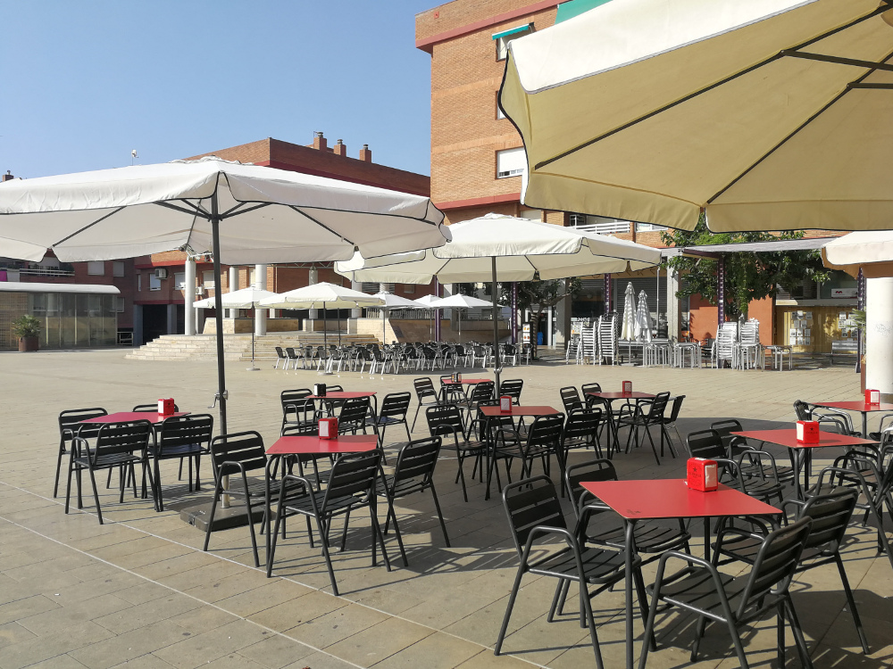 Terrasses bars i restaurants
