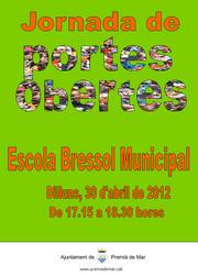 Jornada de portes obertes a l'Escola Bressol