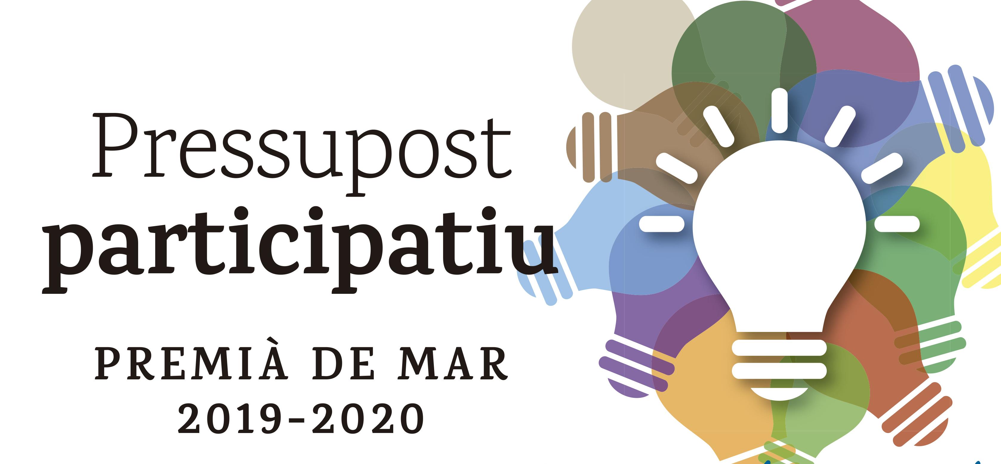 Dotze propostes guanyadores al pressupost participatiu 2019-2020