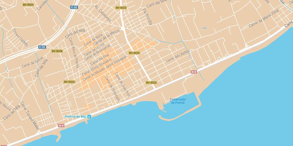 Ajuntament De Premia De Mar Transport I Mobilitat