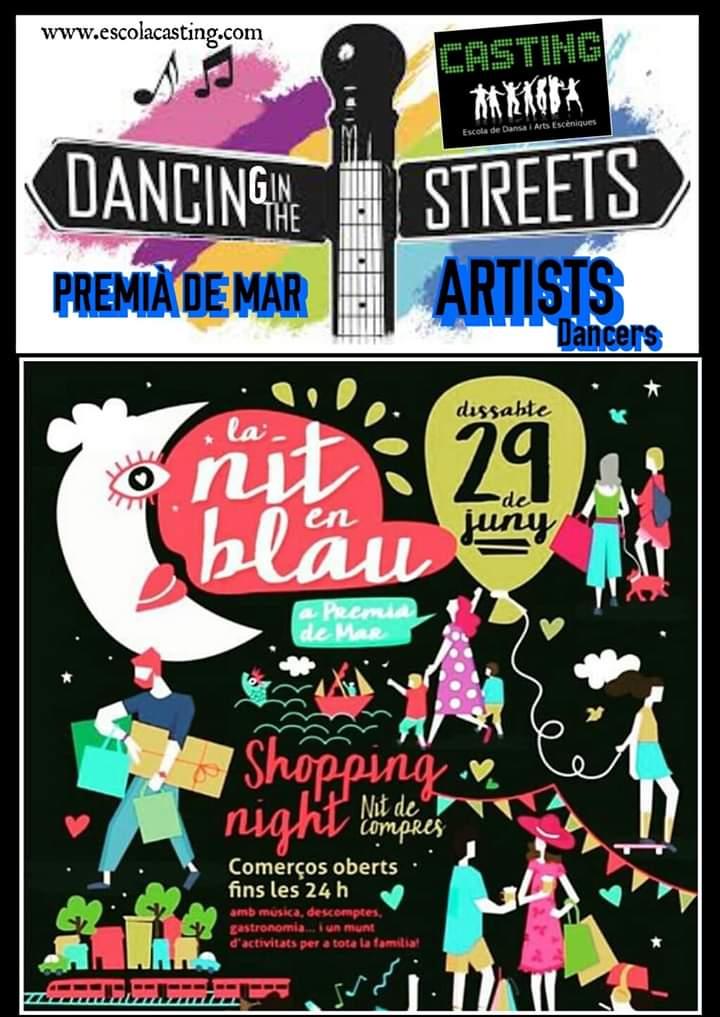 Dancing street