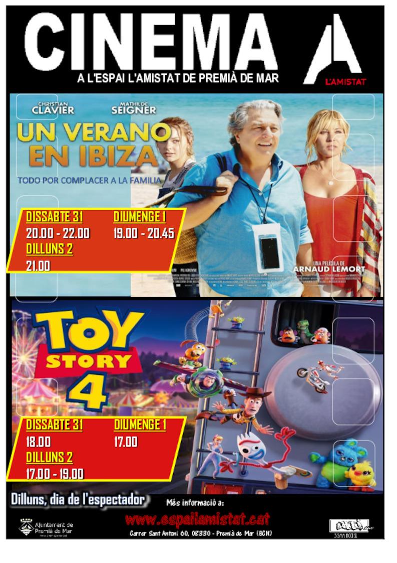 Un verano en Ibiza i Toy story 4