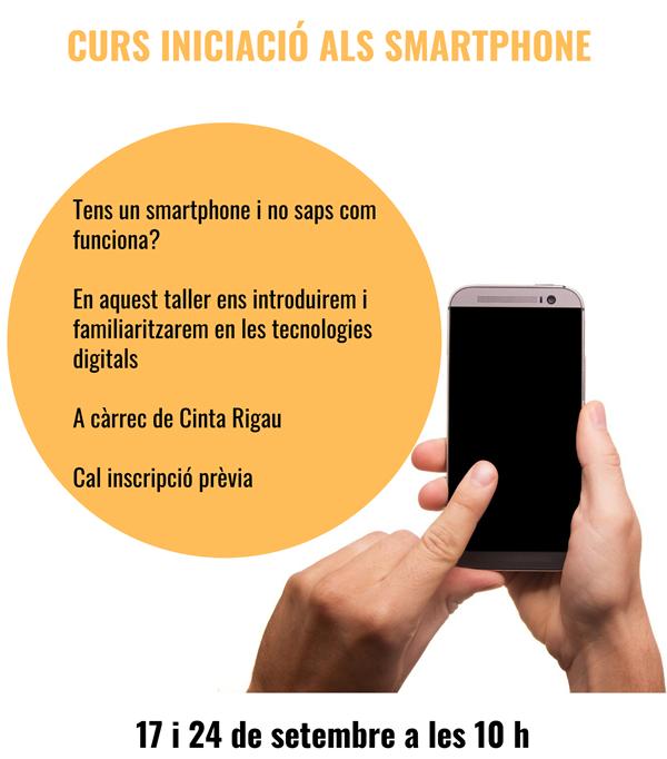 Curs iniciació als smartphone
