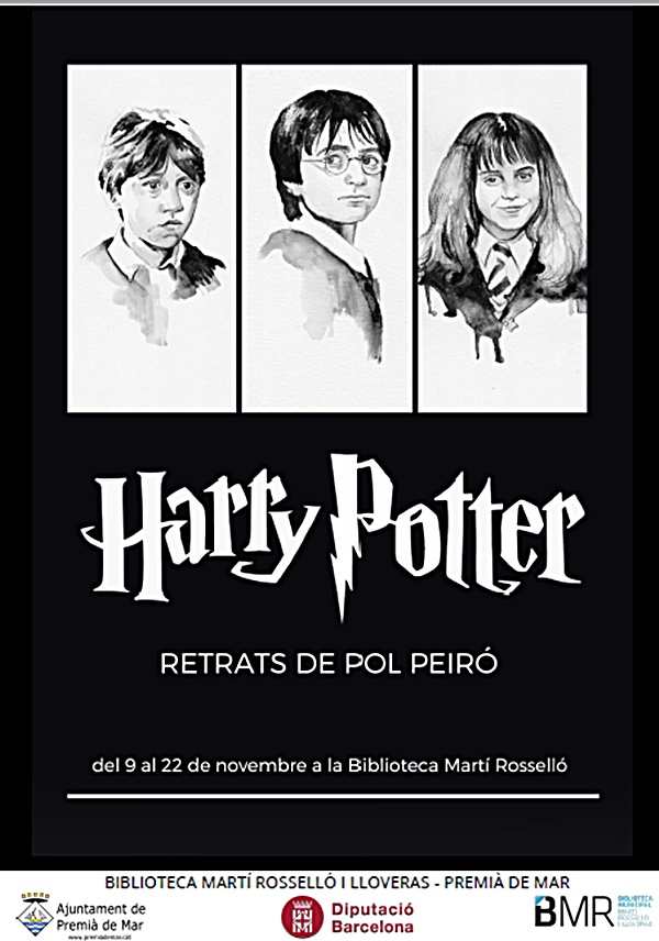 Harry Potter - Retrats de Pol Peiró