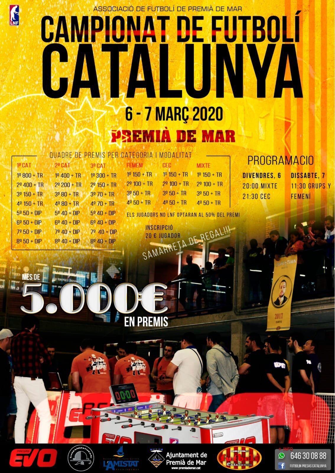 Campionat de Futbolí Catalunya