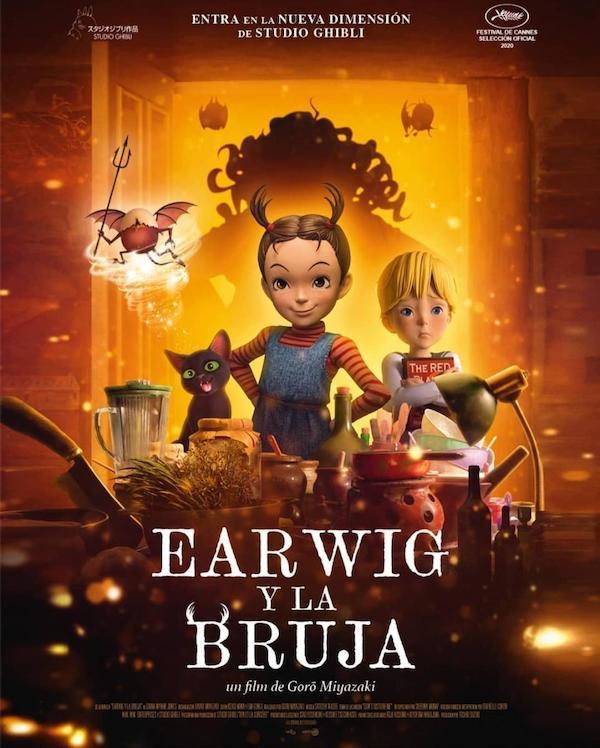 CINEMA EARWIG Y LA BRUJA