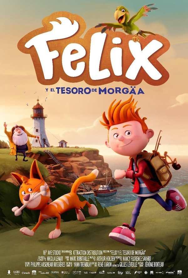 CINEMA: FELIX Y EL TESORO DE MORGÄA
