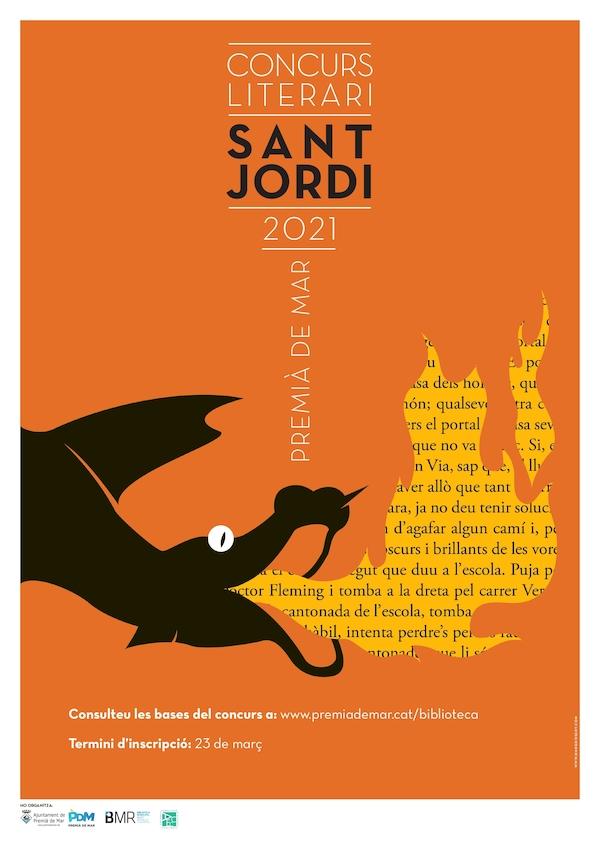 Acte de lliurament de premis del concurs literari Sant Jordi 2021
