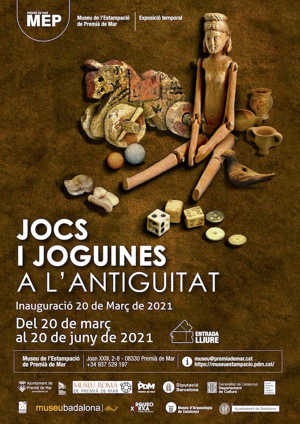 inauguració de l'exposició Jocs i joguines a l'antiguitat