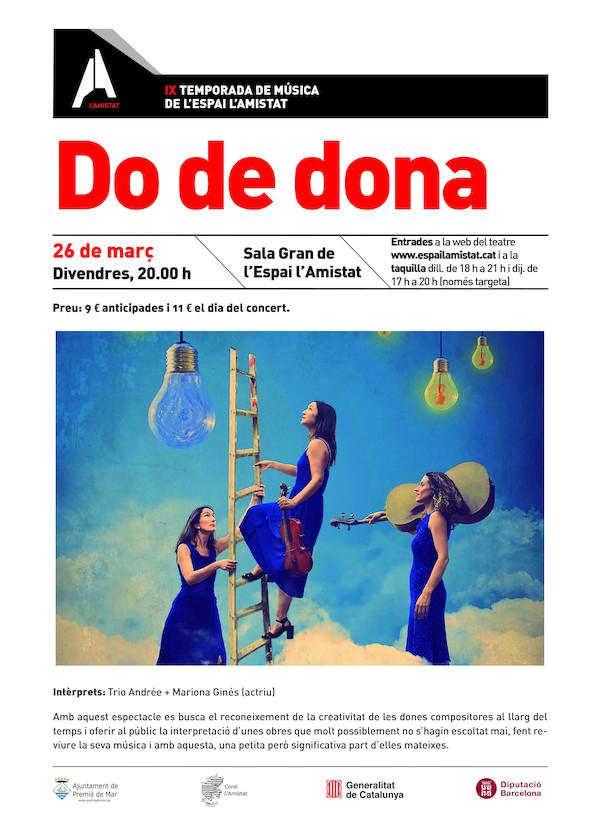 """Concert """"Do de dona"""""""