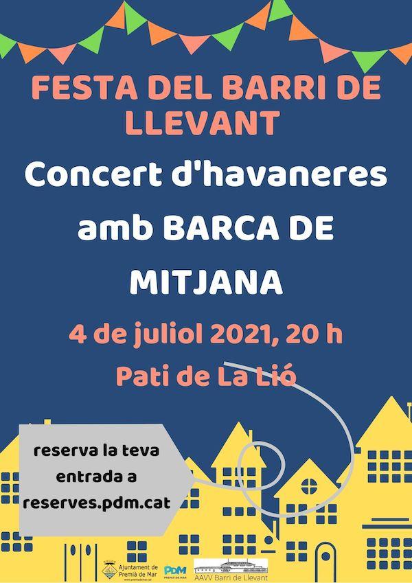 Concert d'havaneres amb Barca de Mitjana