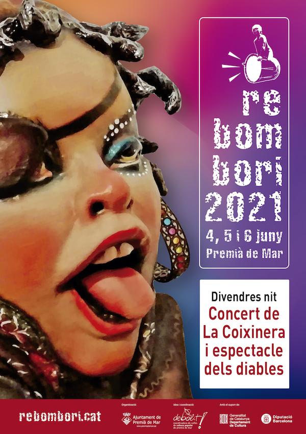 """Rebombori: Concert de La coixinera i espectacle """"Del foc neix la bèstia"""" amb Simplement Diables"""